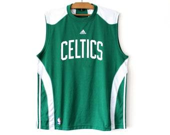 Vintage Adidas Celtics Jersey a71669fc0