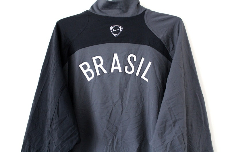 sports shoes 4425e 23415 Vintage Nike Coupe-vent 90 de Nike CBF Brésil veste veste de