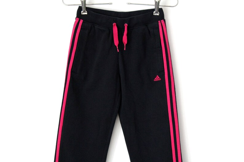 6e1e020f 90's Adidas Pants Vintage Adidas Track Bottoms Black | Etsy