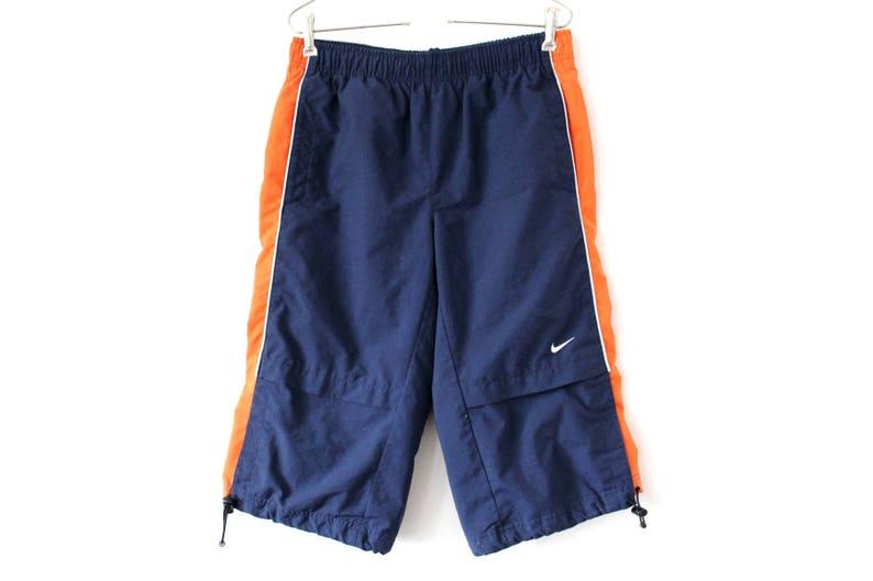 28098380f13e 90 s Nike Shorts Blue Orange Nike Sport Pants Vintage