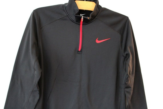 Vintage 90 de Sweat Nike Nike Swoosh Logo cavalier noir   Etsy 33bceb816fda