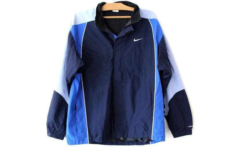7c4750540565 Vintage Nike Light Jacket Nike Swoosh Blue Nike Windbreaker