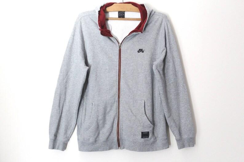 75faafa45fab 90 s Nike Jacket Gray Nike Windbreaker Unisex Nike