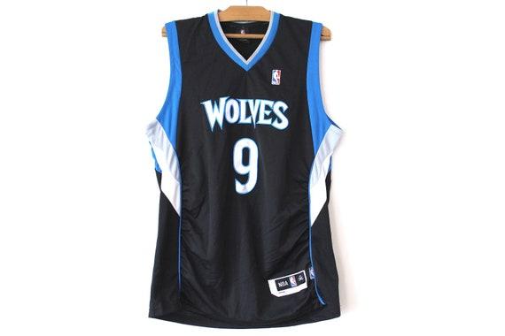 Vintage NBA Jersey Basketball Jersey Black Blue Basketball  34fa88952