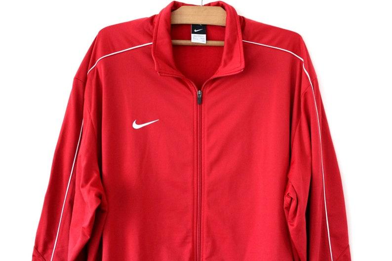 38ec02ef27d9 Zipped Nike Sweatshirt Vintage Nike Jacket 90 s Nike