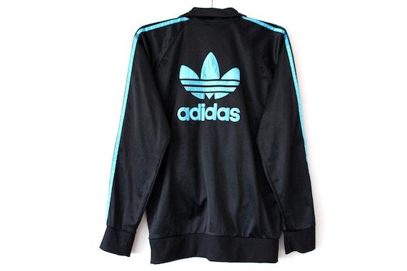 cheaper release info on dirt cheap Kleeblatt Adidas Jacke, Vintage Adidas Trainingsanzug, Hip Hop Streetwear,  großes Logo Adidas Trainingsjacke, Adidas Sweatshirt, Ausbildung Top ...