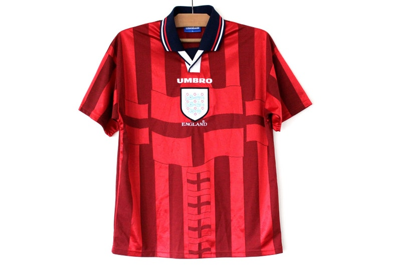 768698298 1997/ 98 Umbro Football Shirt Vintage England Away Football | Etsy