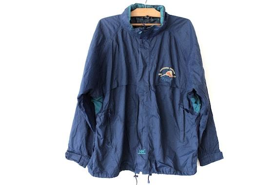Vintage des années 90 Helly Hansen veste bleu Helly Hansen   Etsy 00d929dc4694