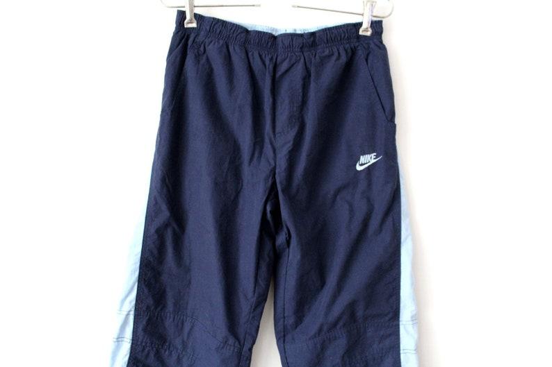 3ca84eb4695e Blue Nike Sport Pants Vintage Nike Windbreaker 90 s Nike