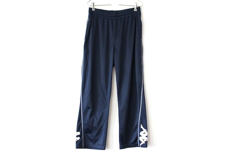 07e90b58 90's Kappa Pants Vintage Kappa Track Bottoms Blue Kappa   Etsy