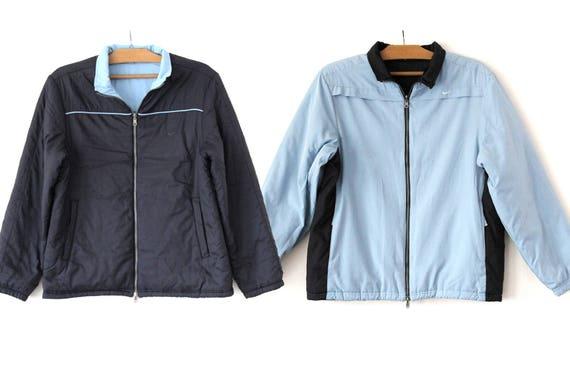 e568c0c2f8c82 Vintage 90 de Nike veste réversible Nike veste dhiver Rare   Etsy