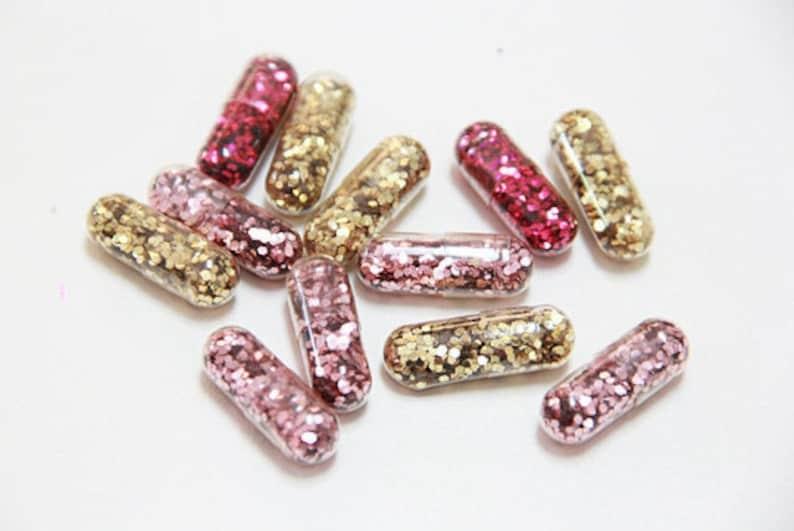 Funny Gift Sparkle Pills 50 Glitter Pills Fairy pills Happy Chill Pills Sparkle Capsule Sparkle Pills Glitter capsule Rave Glitter