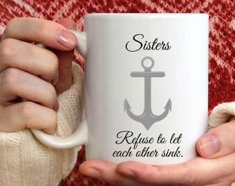 Sister Quote Mug Etsy