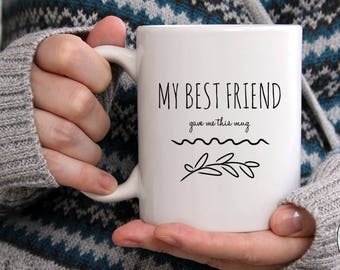 Best Friend Coffee Mug Long Distance Funny Cup Gift For Birthday Idea 11 Oz 15