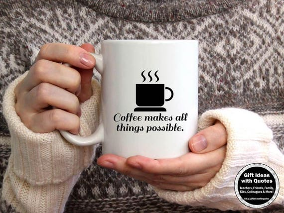 Coffee Addict Mug Funny Coffee Quote Coffee Lover Gift Etsy