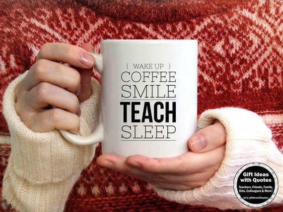 unique gifts for teachers appreciation week coffee teach