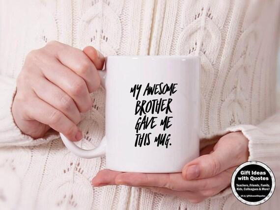 Zuster Geschenk Van Broer Gift Van Broer Zus Mok Zus En Broer Mok Grappige Zus Verjaardagsgift 11 Oz 15 Oz Koffiekopje