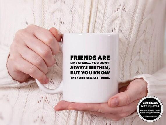 Przyjaciel Odległość Prezent Przyjaciele Są Jak Cytaty Gwiazd Przyjaciel Długi Dystans Pomysłów Na Prezent Przyjaźń Kubek Kawy Przyjaciół Kubek