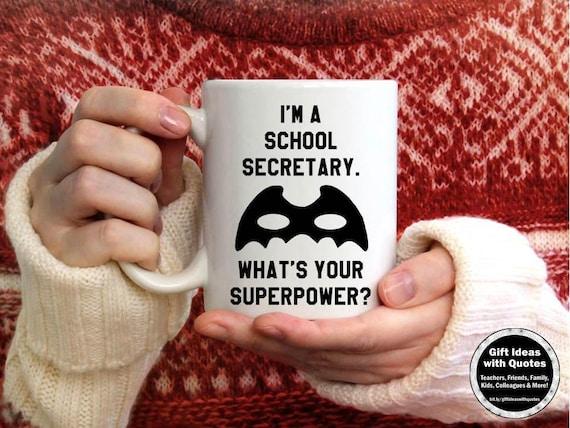 School Secretary Gifts End Of School Year Thank You Gift Etsy