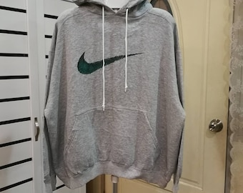 f86e27705 rare vintage 90s Nike Sweatshirt Spellout logo nike swoosh Sweatshirt size  medium very good conditions made in USA Activewear Streetswear
