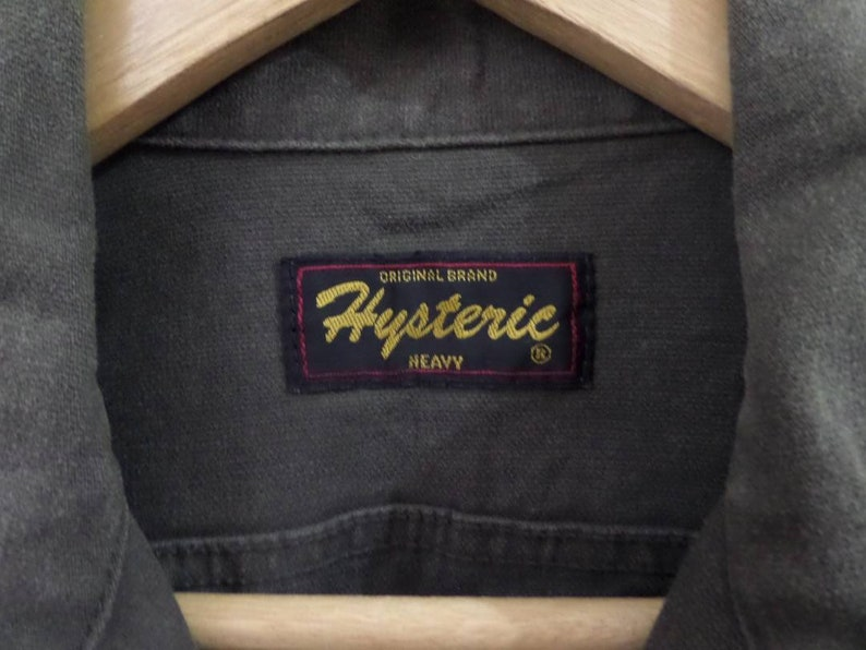 Hot Sale Rare Vintage Hysteric Glamour overall Hysteric big logo japanese brand Activewear Streetwear