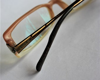 b006cb3dd3 Vintage eye glasses VOGUE signed ladies frame glasses Vintage spectacles  eyewear Women eyeglasses Genuine italian Collectible glasses