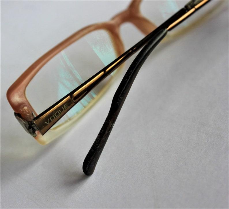 17ca333b700c Vintage eye glasses VOGUE signed ladies frame glasses Vintage | Etsy