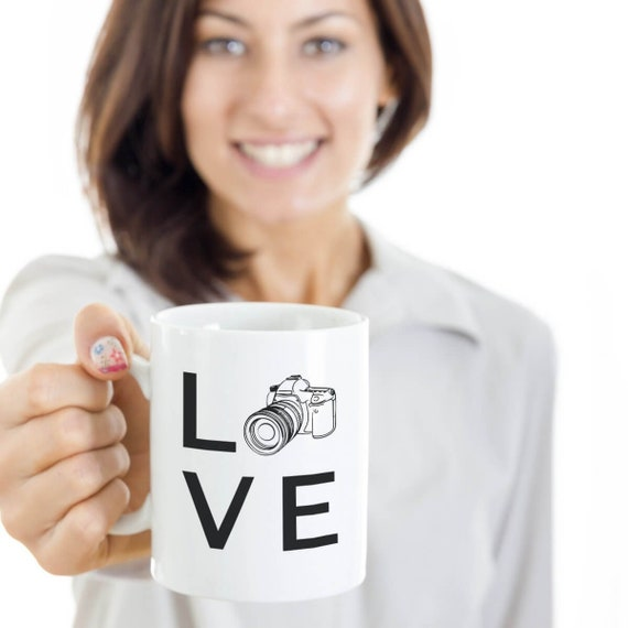 Love Photography Coffee Mug Unique Gifts For Professional Etsy