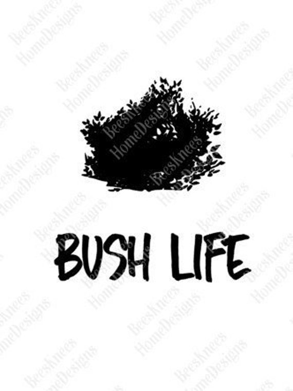 Fortnite Bush Life Design Digital Cut File Iron On Etsy