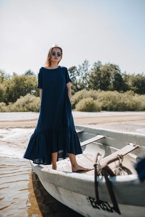 5f0acfeffb READY TO SHIP handmade linen maxi dress maxi dress linen