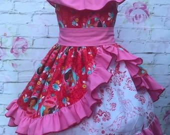 Elaina of Avalor theme dress
