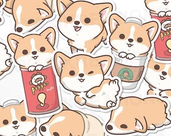 Cute Corgi Stickers