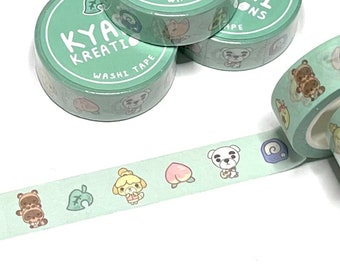 Animal Crossing New Horizons Celeste and constellations washi tape