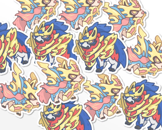 Pokemon Zacian Sticker