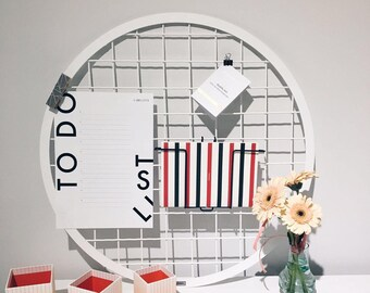 Moodboard Sphere m, 60 cm, Memo, Photowand, Pinboard, board, organizer, wall decor, to-do list, Notepad.
