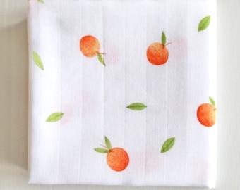 Oranges 60cm Muslin square