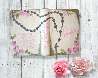 Custom Hand Painted Bibles
