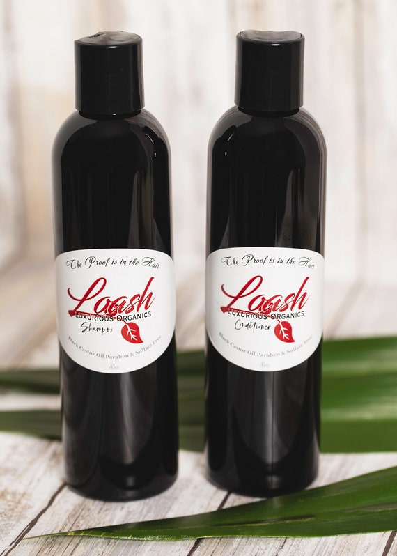 Loash Shampoo and Conditioner are paraben and sulfate free.