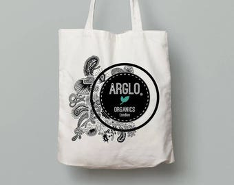 Limited edition hand printed Tote bag