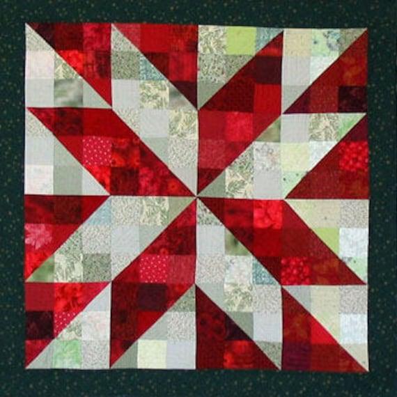 Broken Star Pdf Quilt Pattern Etsy