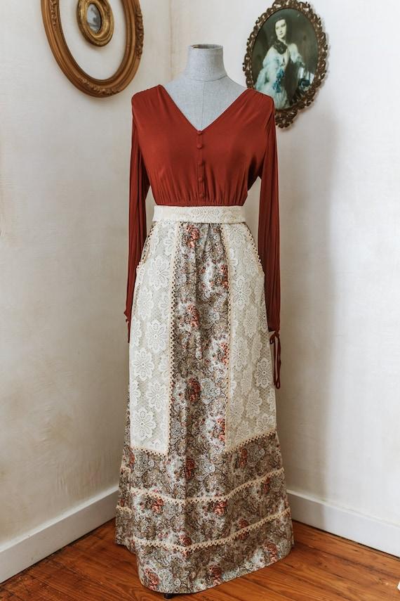 Holly by Gloria Moret Bohemian Prairie Skirt