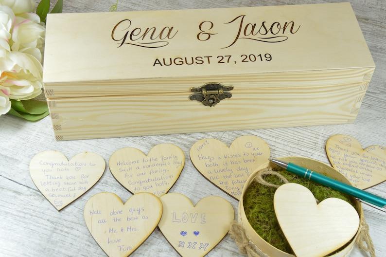 Wedding Guestbook Wedding Guest Book Alternatives Rustic Wedding Box Unique Ideas Personalised Custom Guest Book Guestbook Sign