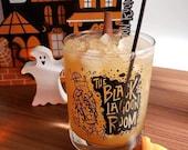 BLACK LAGOON ROOM 11oz Tiki Bar Old Fashioned Cocktail Glass