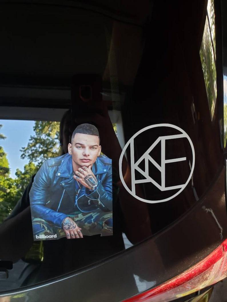 Kane Brown Window Car Decal