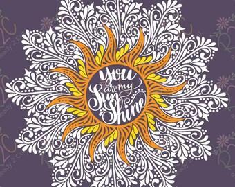 Sunshine Mandala Etsy