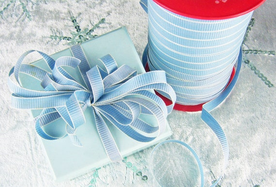 Vintage Gift Ribbon Curling Ribbon Blue