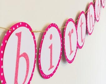 Custom Name Birthday Banner   Custom Color Birthday Banner   Handmade Happy Birthday Banner   Glitter Happy Birthday Sign