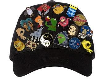 Perfect Custom Made To Order Enamel Pins (50 Pin MINIMUM)