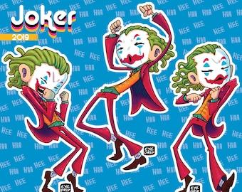Dancing Joker - Sticker Sheet!