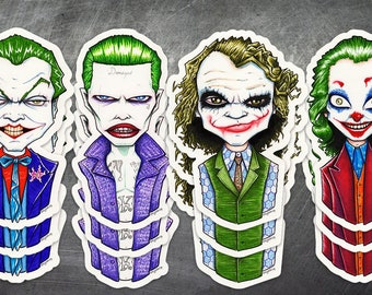 Jokers Squad 4-Pack Stickers